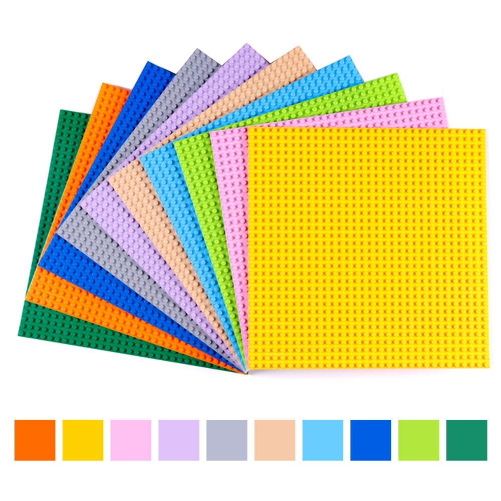 토이다락방 레고 클래식 놀이판 블럭판 레고판, 레고 호환 32x32칸 - 베이지