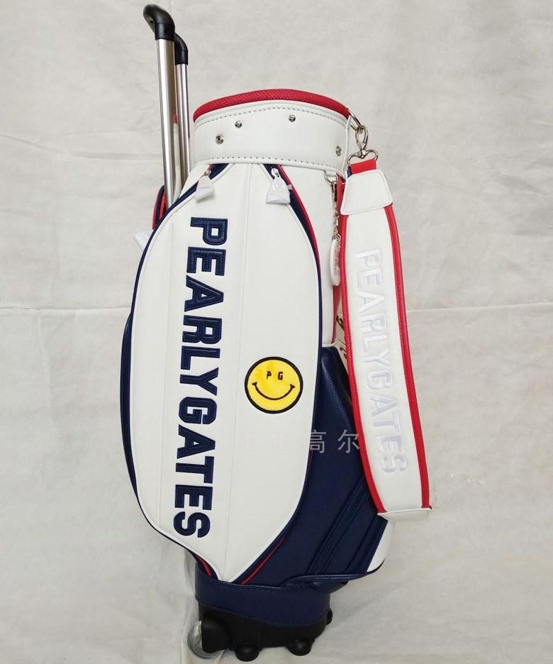 골프 남자 여자 바퀴달린 캐디백 골프백 골프가방, 하얀
