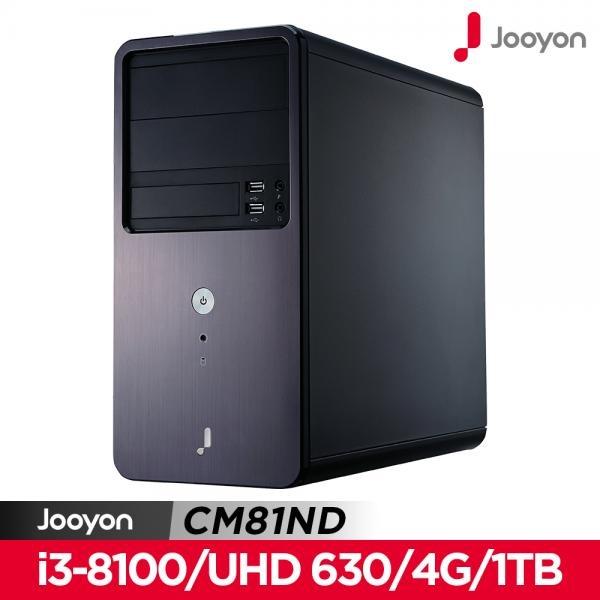 (주연테크 CM81ND (i3-8100 FD (기본제품 기본제품/주연테크, 단일 색상, 단일 모델명/품번