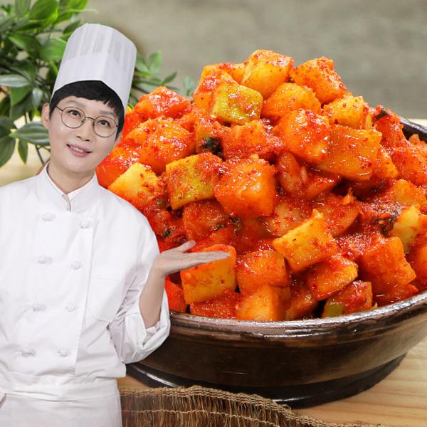팽현숙 최양락의 맛있는 옛날 깍두기 3kg, 단품