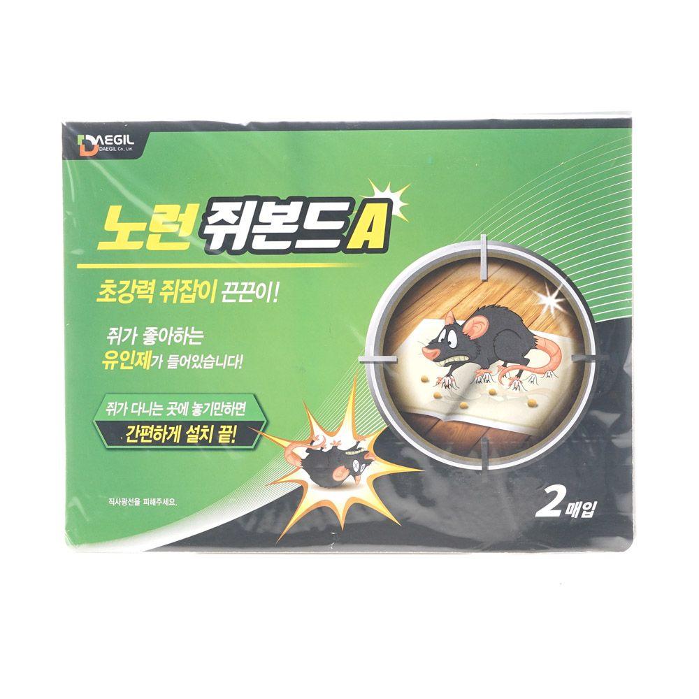 쥐잡이끈끈이 20매입 초강력 쥐덪A 노런 jsfo, OWTD 1