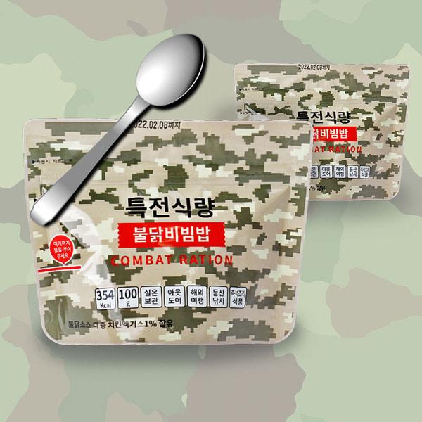 캠빙 등산 특전식량 불닭 비빔밥 100g 6개, 1개