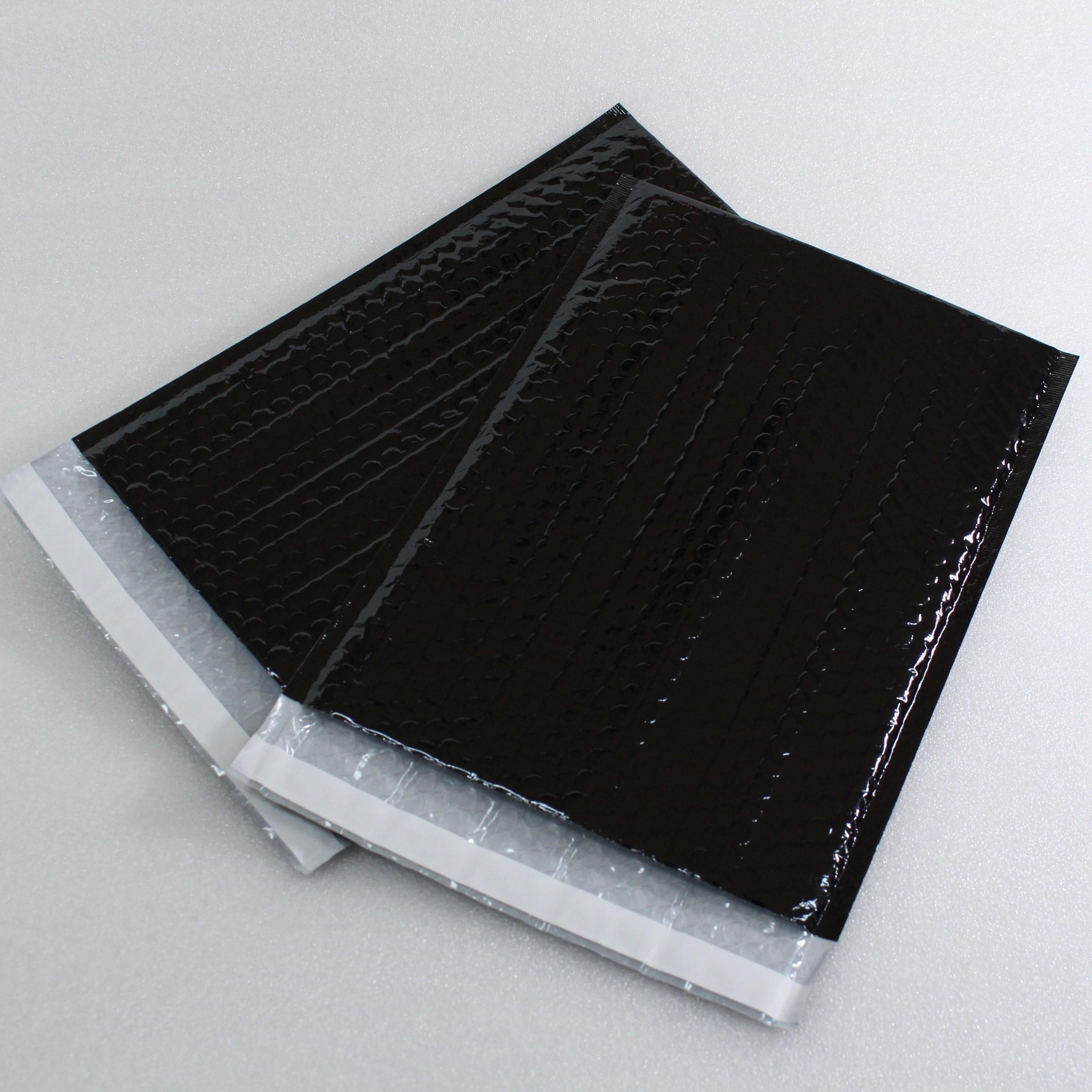 하나 PET 안전봉투 에어캡봉투 뽁뽁이봉투 택배봉투 블랙, 100매