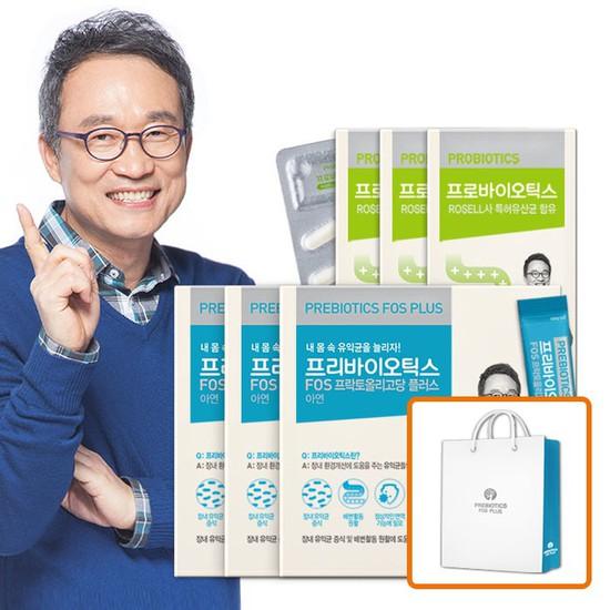 오한진 프리바이오틱스 3개월 + 프로바이오틱스 3개월, 상세설명 참조, 없음