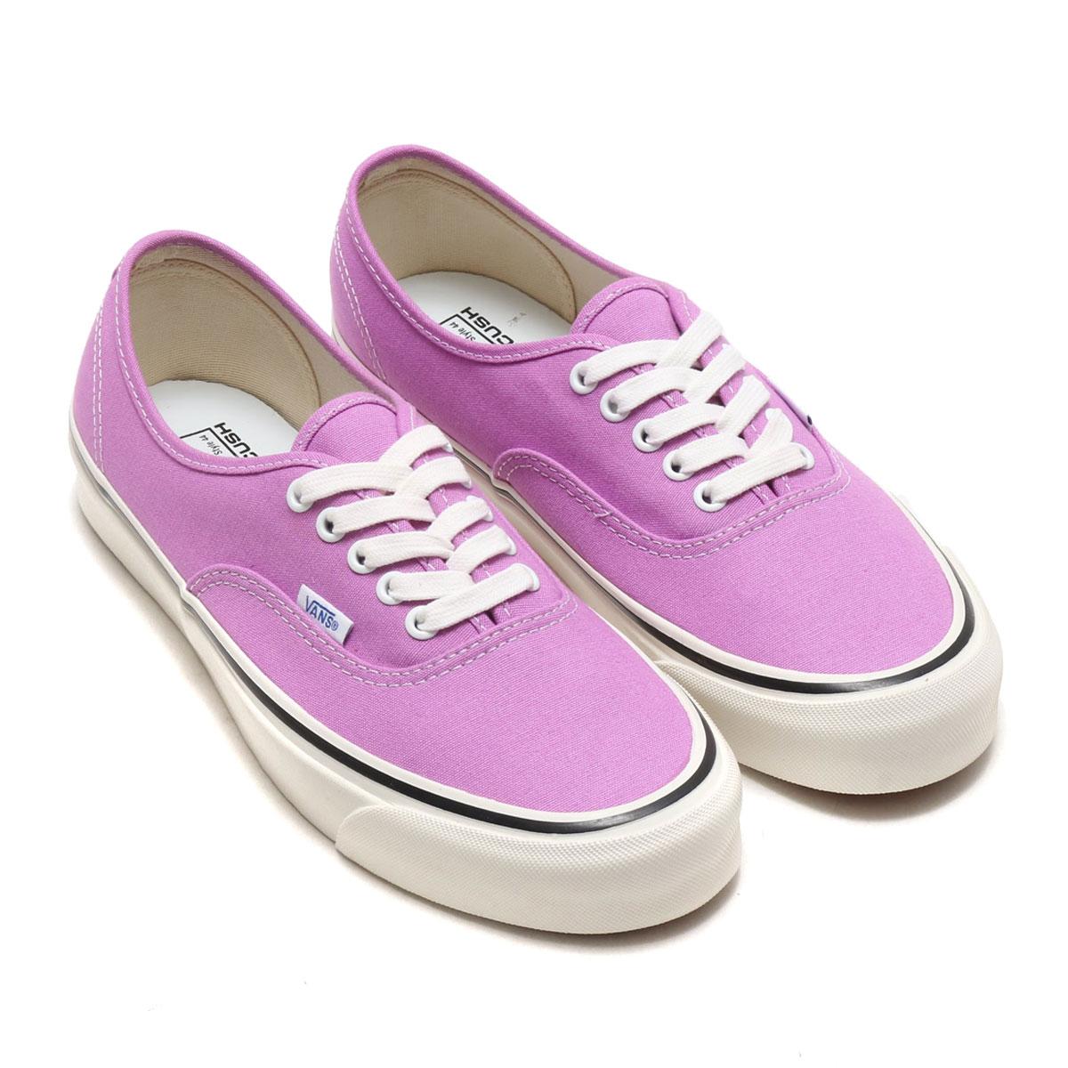 반스 어센틱 애너하임팩토리 OG 라일락 VN0A38ENQA9 보라 핑크 캔버스 스니커즈 Vans Authentic 44 DX ANAHE