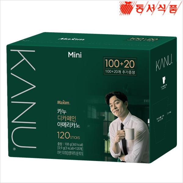 카누 미니디카페인100T+20T, 단일상품