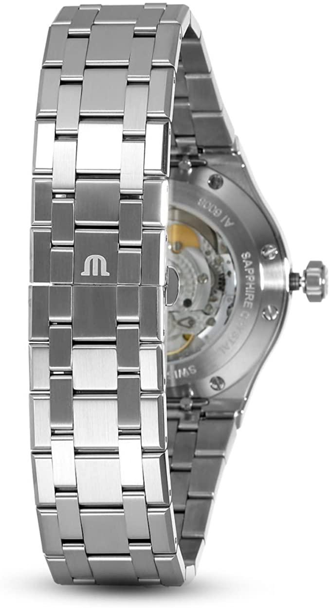 (관부가세포함) Maurice Lacroix Men's Aikon Automatic 42 mm Watch Blue/Silver-B07CNT7F5F
