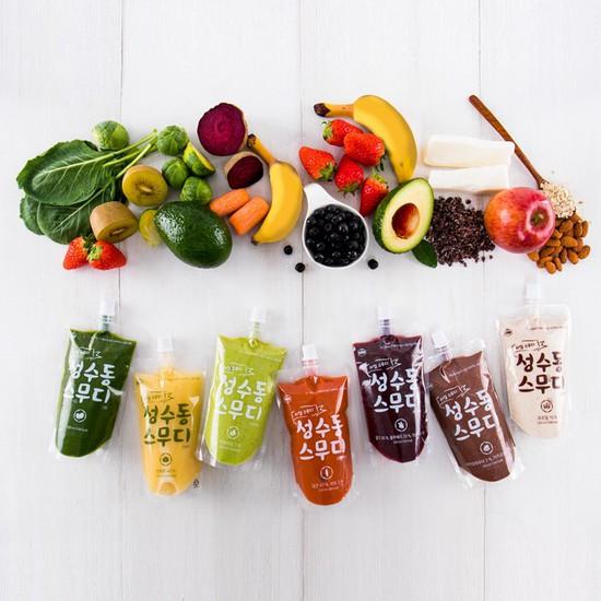오직 과일&야채로만 성수동 스무디 세트, 상세설명 참조, 03. 스무디 3Day절식 (과일야채5개+곡물4)