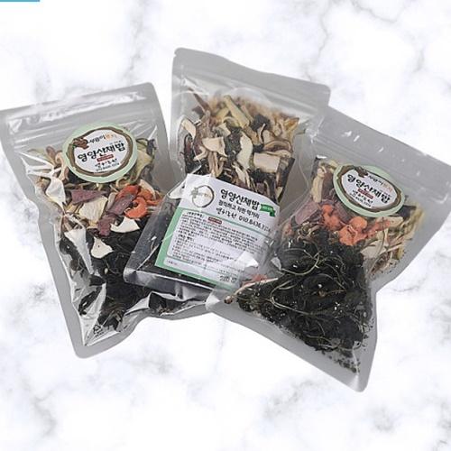 산채나물과 버섯이 들어간 건나물 영양산채밥 비빔밥 (50g 5팩)