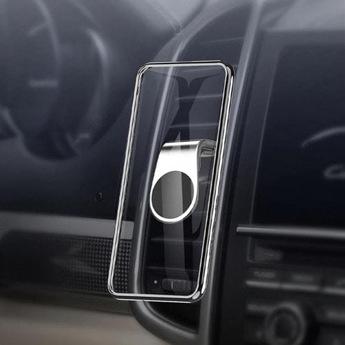 [Re-바이] 20년형 고급형 블랙 차량용 자석 송풍구형 퍼펙트 거치대 360도 회전 팟