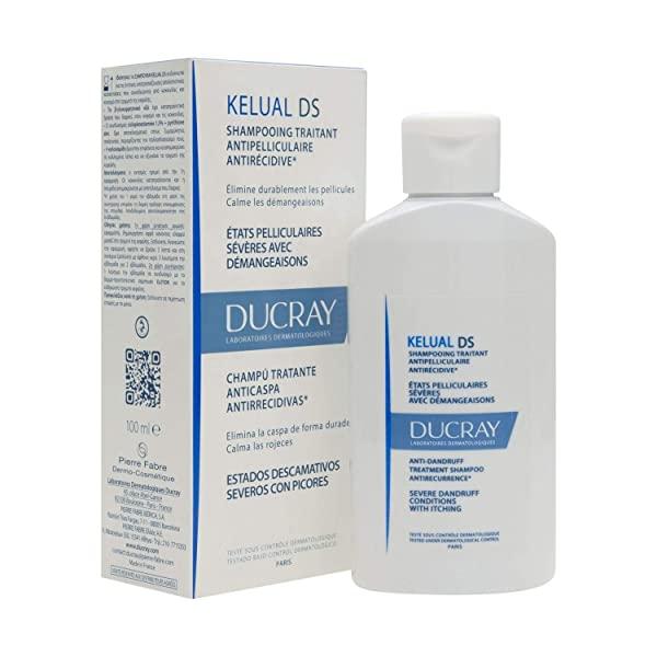 Pierre Fabre Ducray Kelual DS Anti-Dandruff Shampoo 100 ml, 단일상품, 본문참고, 본문참고