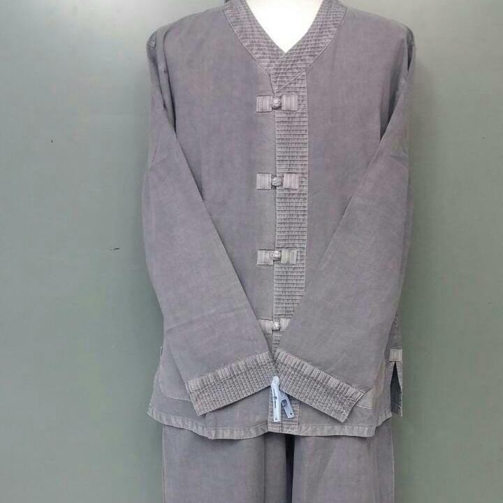 대신승복 20수 저고리+바지 셋트(긴소매 봄가을옷) 생활한복(개량한복) 승복 법복 개량한복 절복
