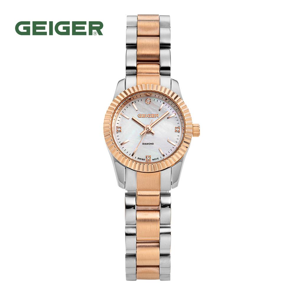 가이거[GEIGER] [백화점 정품] 가이거 여성 게르마늄 쥬얼 다이아 워치 GE1175CB (23mm)