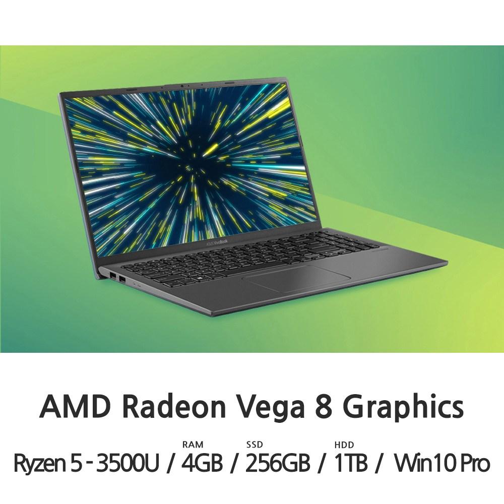 비보북 X512DA-BQ475 CTO, 4GB, SSD 256GB + HDD 1TB, 포함