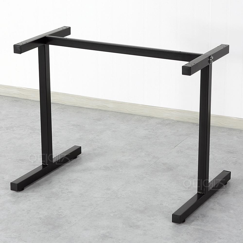 RB01 쌍다리 업소용 테이블 발통/아이자다리/H다리/교체용다리/철재다리/리폼다리, 소형사이즈+너비480mm