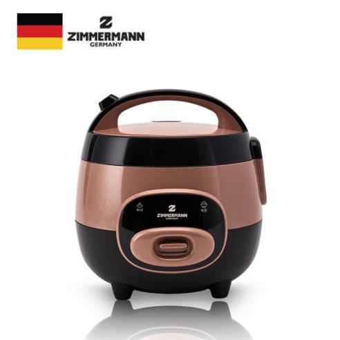 짐머만 전기 밥솥 EC-1800 캠핑용 여행용 이유식 혼밥 커플용(3-4인용)