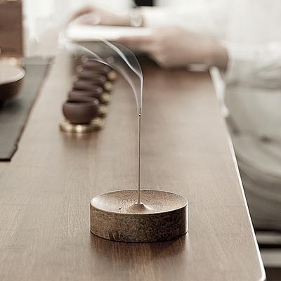 모던 우드인센스 스틱 홀더 아로마 향꽃이 홈인테리어, 기본