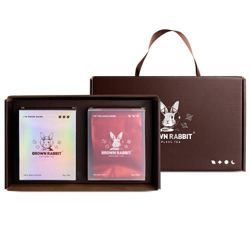 브라운래빗 드립백 커피 & 프리미엄 티백 선물세트 / 감성선물세트