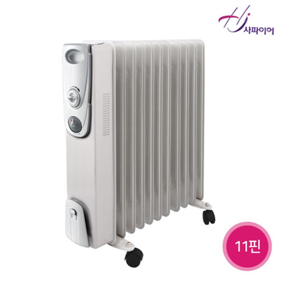 JH+사파이어 욕실동파방지 오일형라디에이터 9핀 SF-009_S/N:EA+4ACE69 ; 전기라디에이터 전기방열기 전기컨벡터 컨벡터 전기히타 전기라지에타 라지, jh 본상품선택