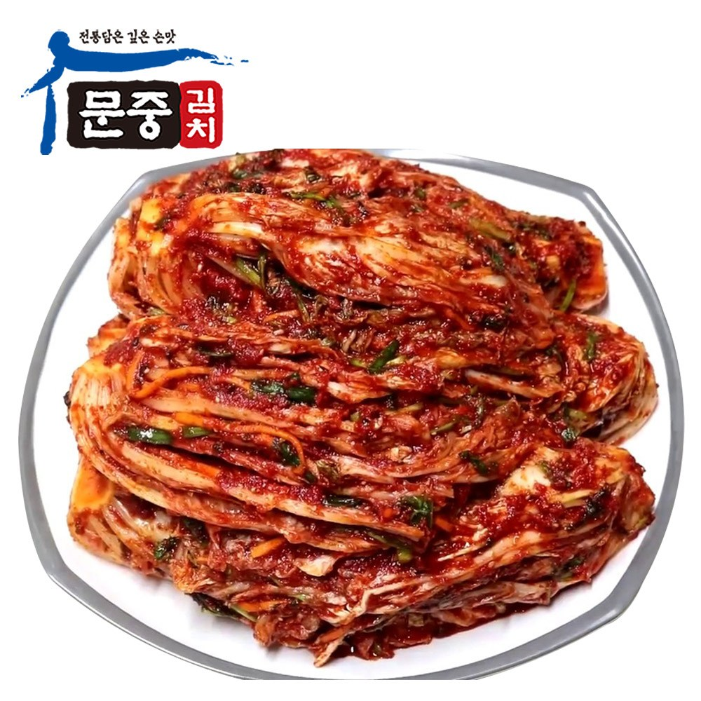 문중김치 핫 매운김치, 1개, 1kg