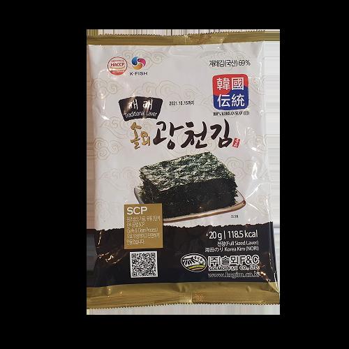 솔뫼 광천김 35개국 수출 식품전공 석사 대표가 32년 연구한 JMT 전장 재래김, 10개
