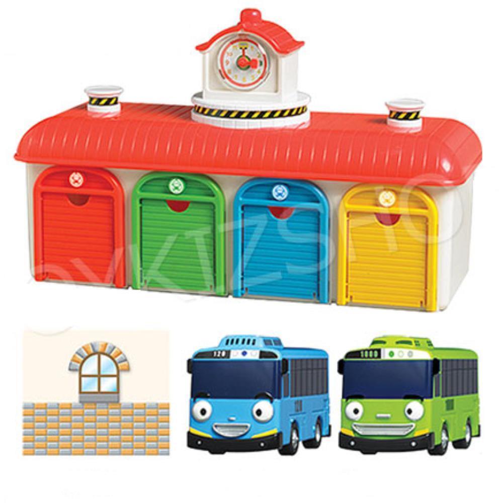 3세 남아 타요 로기 버스차고지 장난감 두돌장난감, 단일상품