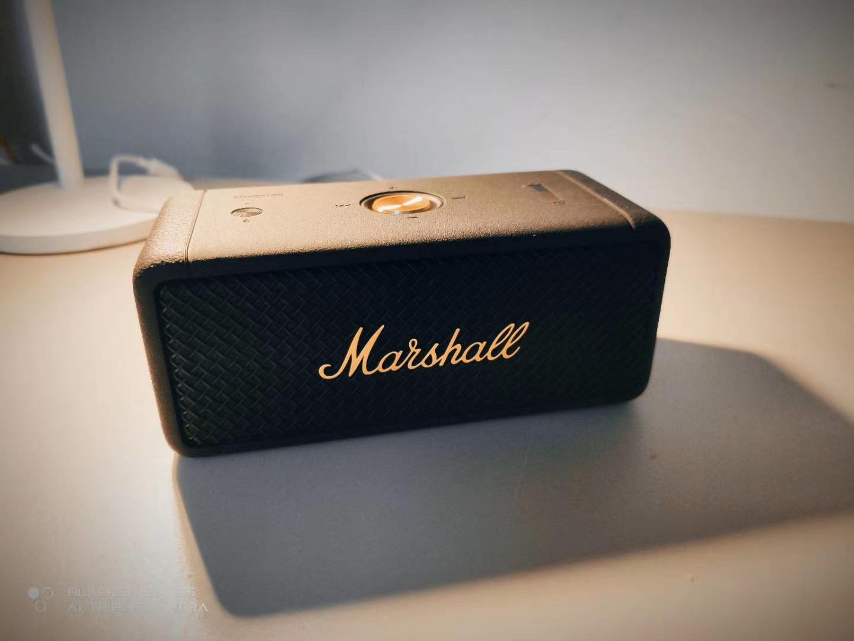 Marshall 마샬 Kilburn ACTON II Stanmore2 세대 블루투스 스피커 2 세대, 엠 버튼 블랙 골드 리미티드 에디션, 공식 표준