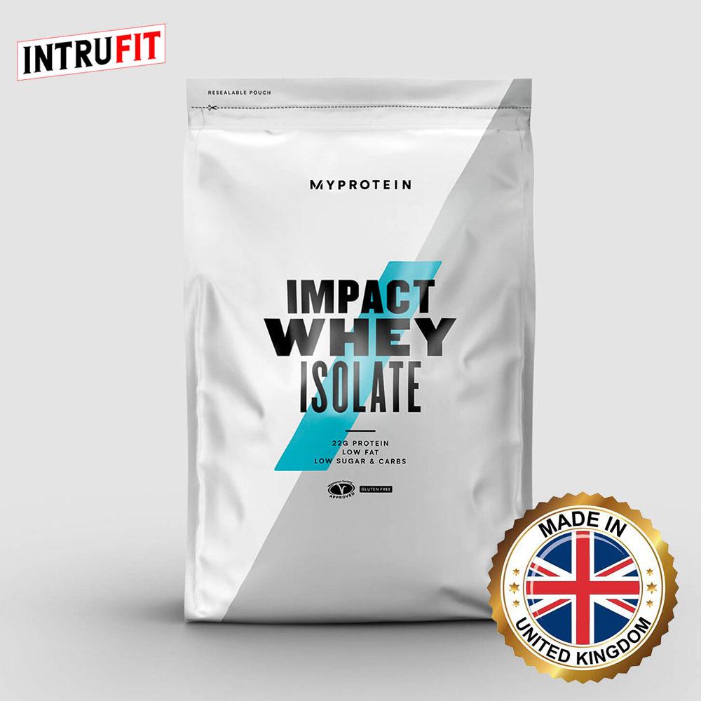 마이프로틴 단백질보충제 임팩트웨이 아이솔레이트 분리유청단백 10가지맛 1 2.5kg, 바나나, 2.2lb(1kg)
