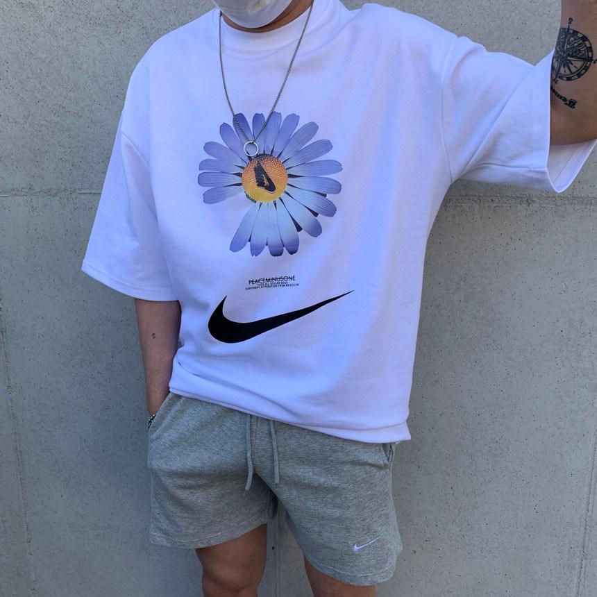 블랙넘버 GD 파라노이즈 반팔티(2color) 반팔 티셔츠