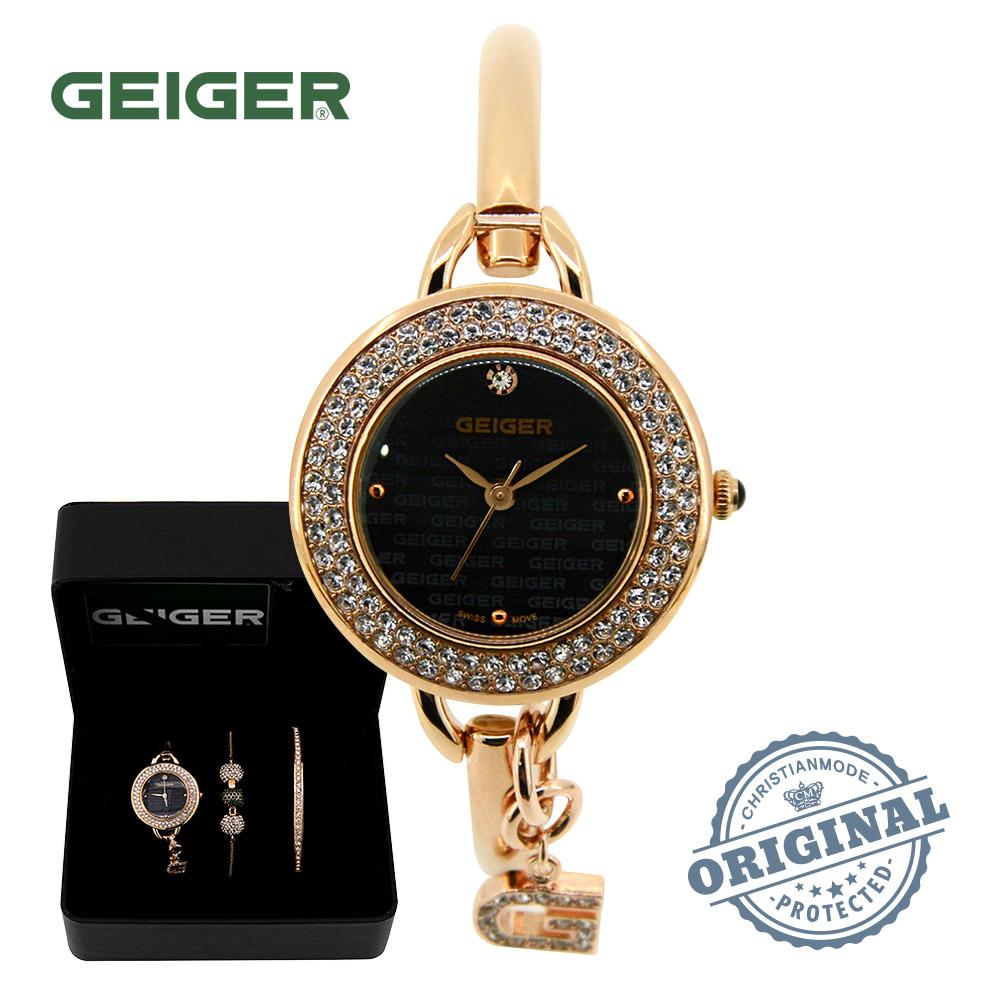 가이거[GEIGER] [본사 정품] 백화점AS 가이거 여성 뱅글팔찌 시계 GE1173RGB (29mm)