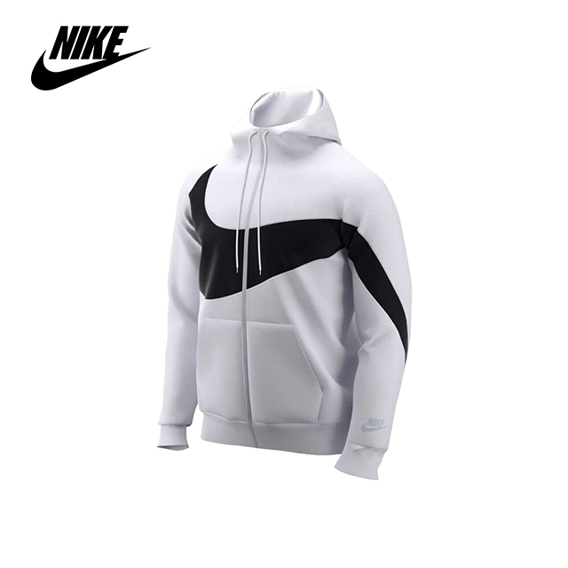 나이키 빅스우시 후드집업 화이트 Nike Big Swoosh Full-Zip Hoodie (ZR3084-100)