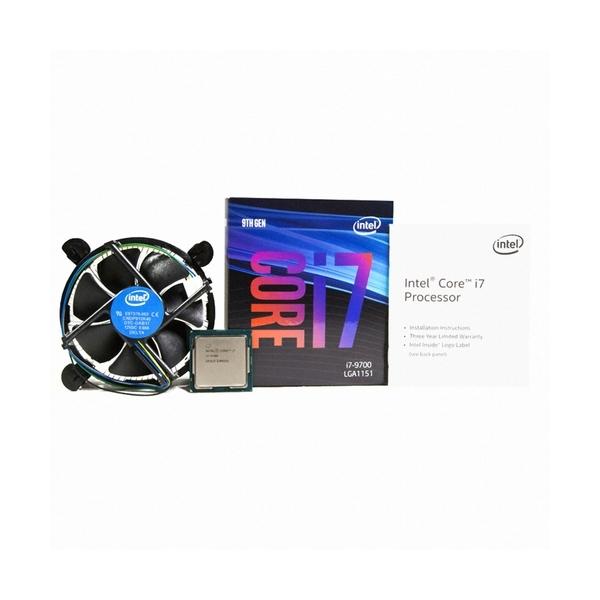 엠지컴퓨터/인텔 코어 i7 9세대 9700 (커피레이크-R) (정품), 옵션없음