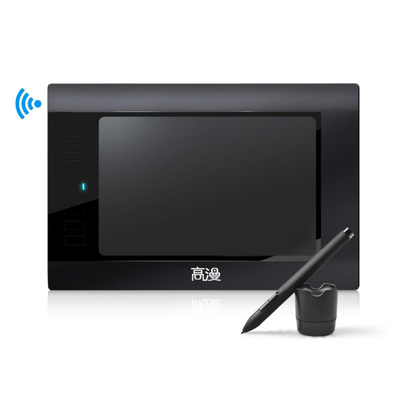 2.4G 무선 드로잉 태블릿 패드 WH850 보드 8.5인치 Shopp!ngWell, 단품, 단품