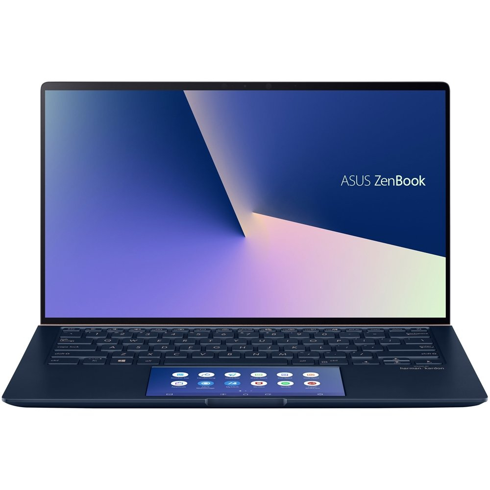 Asus UX434FLC-XH77 ZenBook 14 Ultra-Slim Laptop Full HD NanoEdge Bezel Intel Core i7-10510U 16GB RAM 512GB PCIe SSD GeForce MX250, 512GB SSD, 포함