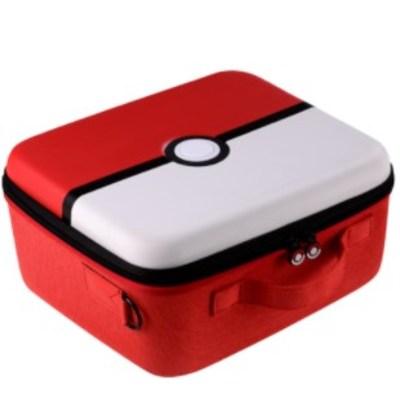 닌텐도 포켓몬스터 파우치 휴대용 보관 액세서리 가방 게임 스토리지 박스 브래킷 보호 커버 세트, 단품