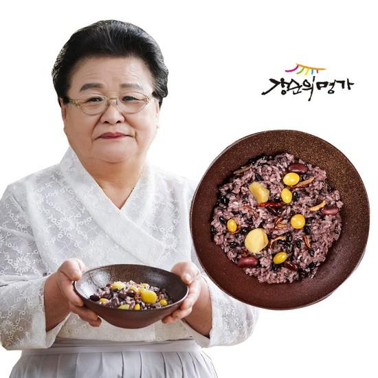 CJ단독[강순의명가]수제영양밥120gX20개, 없음, 상세설명 참조