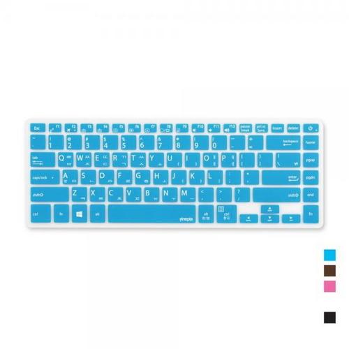 [바보사랑]ASUS 비보북 X505BA 시리즈용 문자키스킨, 초코, 옵션선택
