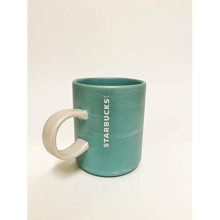 Starbucks 스타벅스 씨폼 대리석 디자인 세라믹 커피 머그 12유체 온스 2019 PROD770007060, 상세 설명 참조0, One Color