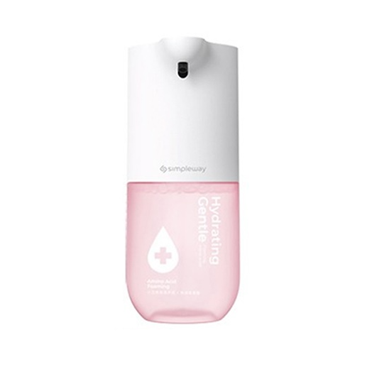 샤오미 simpleway 손세정기 4세대 xiaowei 핸드워시 99% 세균 억제 저전력 센서식 자동 거품 무료배송, 1개, 분홍색