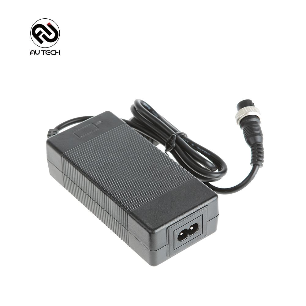 AU테크 레드윙 블랙 36V 8Ah 전동킥보드 전용 충전기