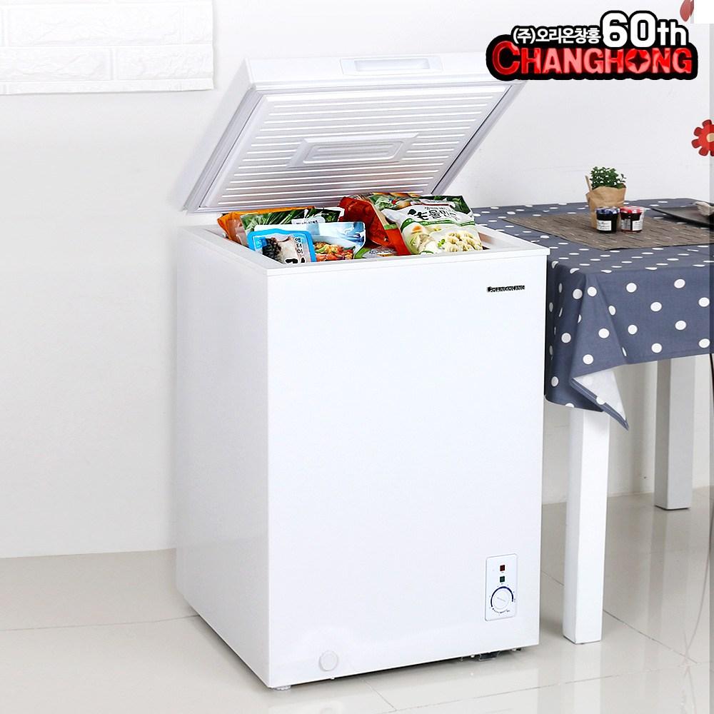 창홍 냉동고 98~291리터 소형 업소용 급속냉각, ORD-100CFW