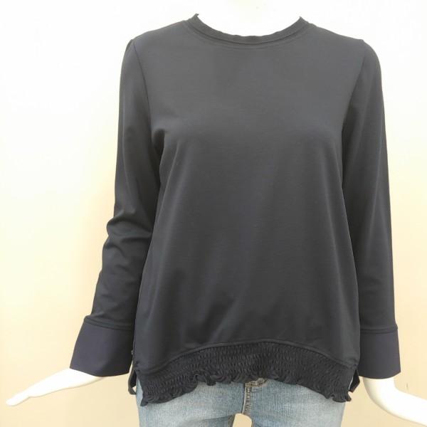 더아이잗 밑단프릴밴딩티셔츠 라운드티셔츠 티셔츠 IJ3A0TS02