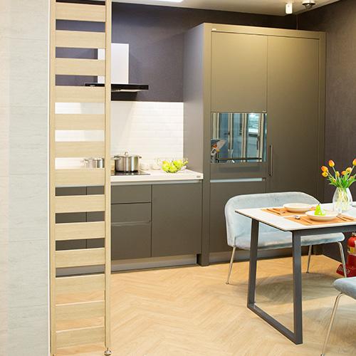 지니홈즈 인테리어 파티션 칸막이 공간분리 가벽 스파이더파티션, 화이트, 360mm