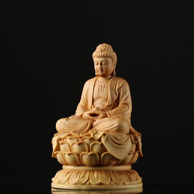 불상 부처님 석가모니 불교 법화경사경 개업식 고사상 새차고사, 석가모니 10cm