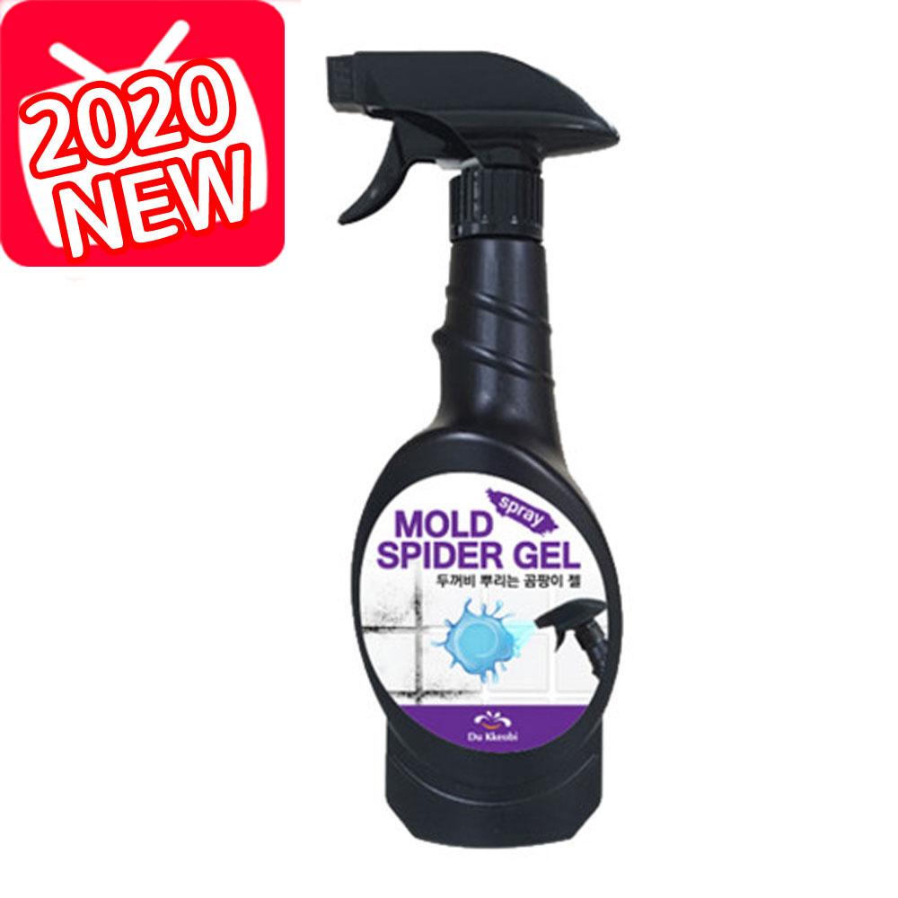 2020 두꺼비 블랙스파이더 곰팡이젤 뿌리는 스프레이 호엠코리아곰팡이제거 단품 곰팡이 제거세제 400ml, 1개