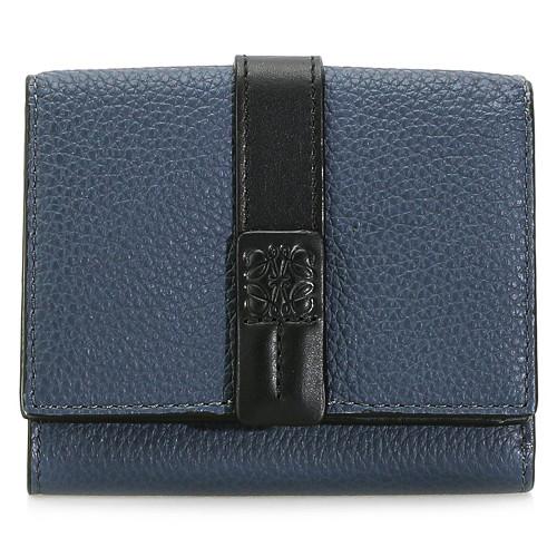 로에베 20FW 124.12AB41 인디고 트리폴드 지갑