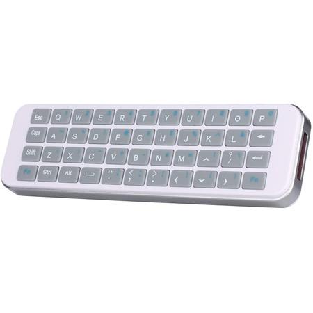 ipazzport mini 2.4g 무선 핸드헬드 키보드(nvidia shield Android TV Box 스마트 TV lasberry pi fir, 상세 설명 참조0