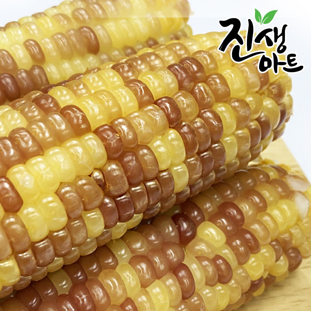진생마트 쫀득쫀득 찰옥수수 벌크 홍찰 20개