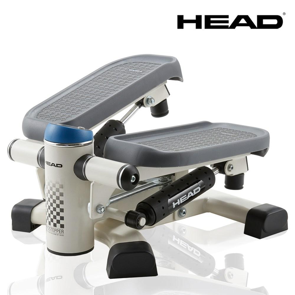 HEAD 트위스트 파워워킹 멀티 스텝퍼 KH9500 계단 오르기 운동 기구, 블랙