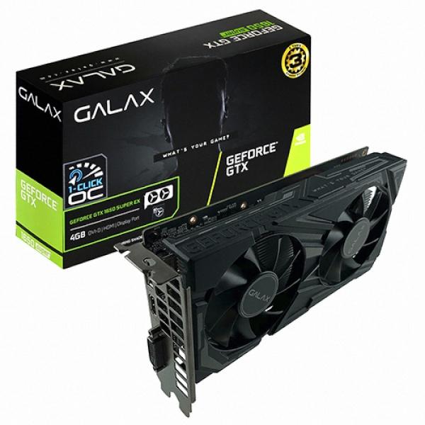 TWO1MALL [Galaxy] GeForce GTX 1650 SUPER EX BLACK OC D6 4GB 그래픽카드, 621283
